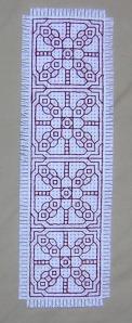 blackwork bookmark
